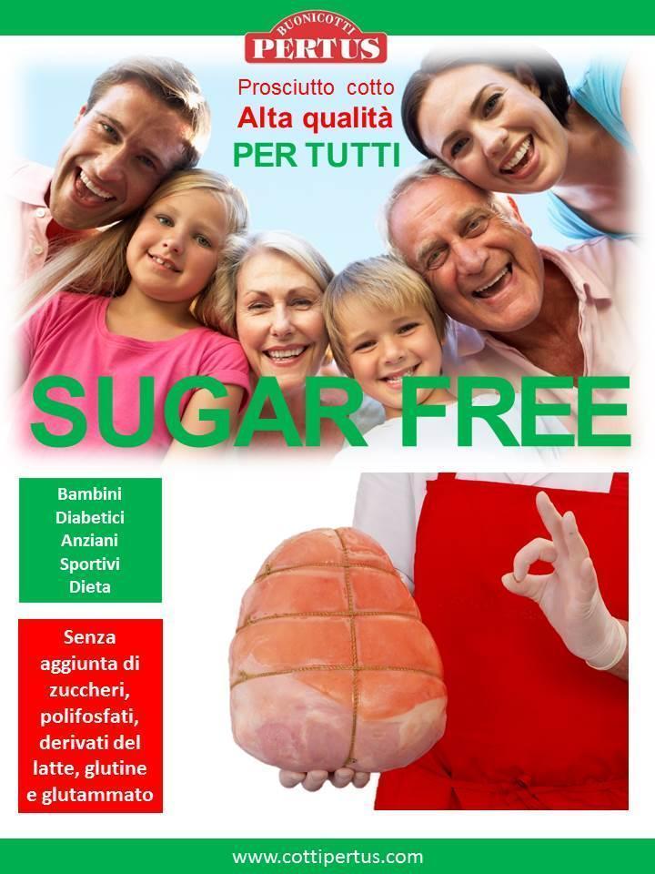 Prosciutto cotto Per tutti Sugar free